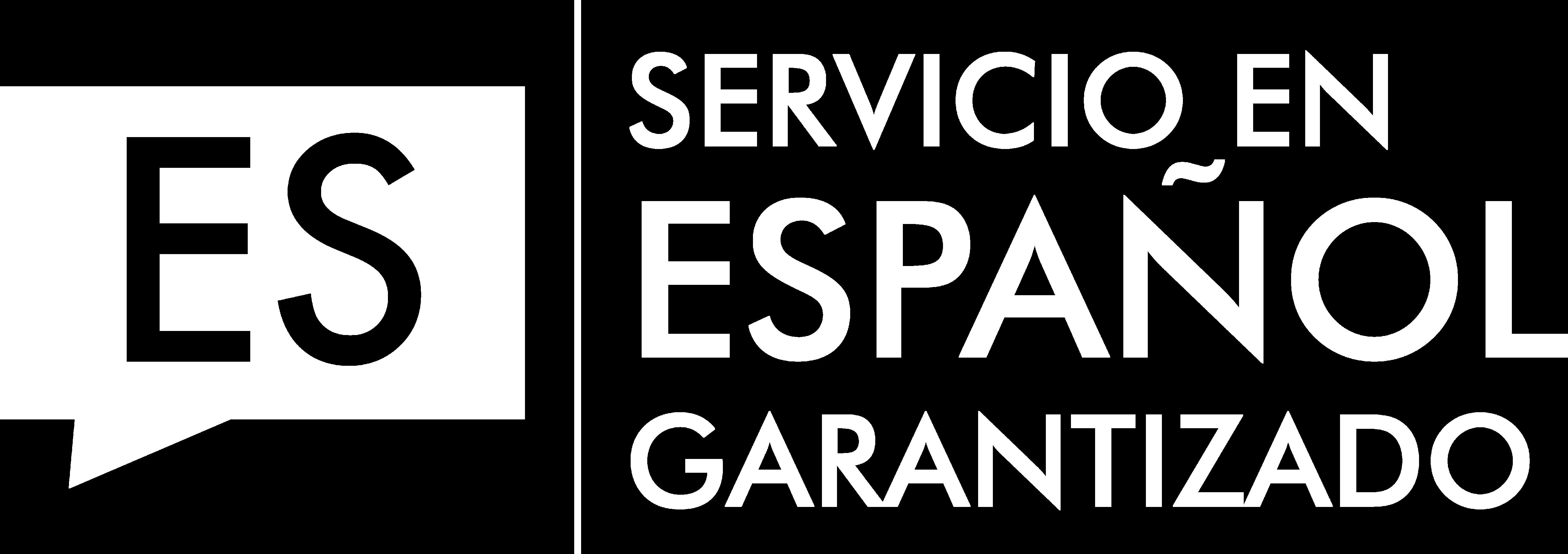 Logotipo de idioma del servicio