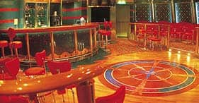 Norwegian Spirit cruise ship Celebrity Teen Disco with dance floor, jukebox, foo