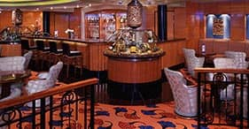 Norwegian Spirit cruise ship Champagne Charlie's Champagne Bar.