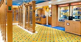 Norwegian Spirit cruise ship Galleria and Photo Gallery.