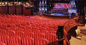 Norwegian Spirit cruise ship Stardust Theater with Broadway and Vegas style show