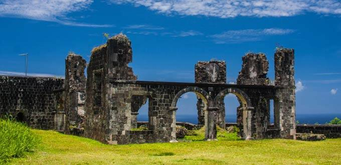 Explore the Brimstone Hill Fortress in St. Kitts