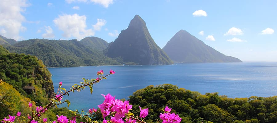 Cruises to Saint Lucia
