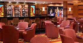 Norwegian Star cruise ship Gatsby's Champagne Bar.