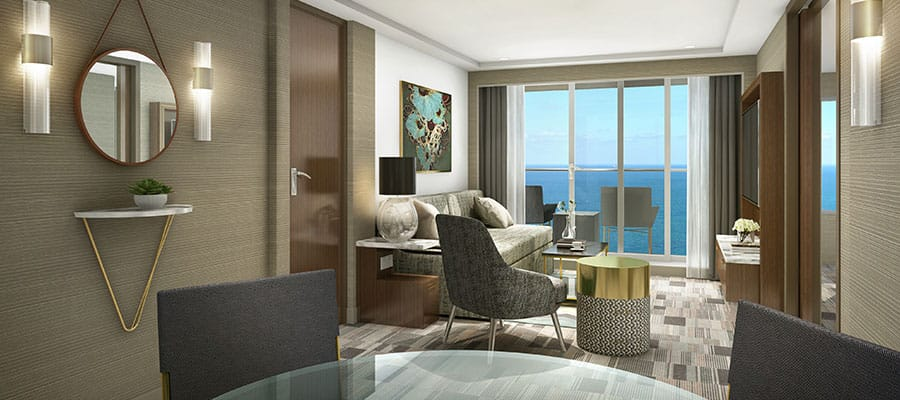 Enjoy sweeping ocean views in our comfortable suites.