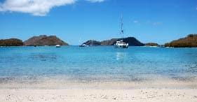 St. John Champagne Catamaran Sail & Snorkel