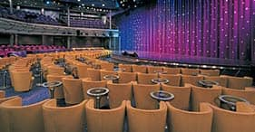 Norwegian Star cruise ship Stardust Theater with Broadway and Vegas style shows.