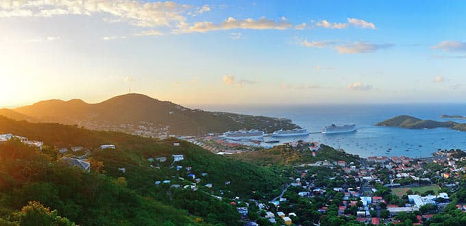 The sights of St. Thomas will leave you breathless