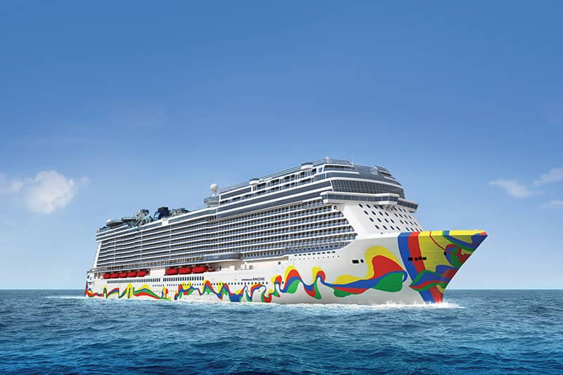 Cruceros a bordo del Norwegian Encore