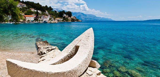Explore the white sands, azure seas and incredible sights of Split.