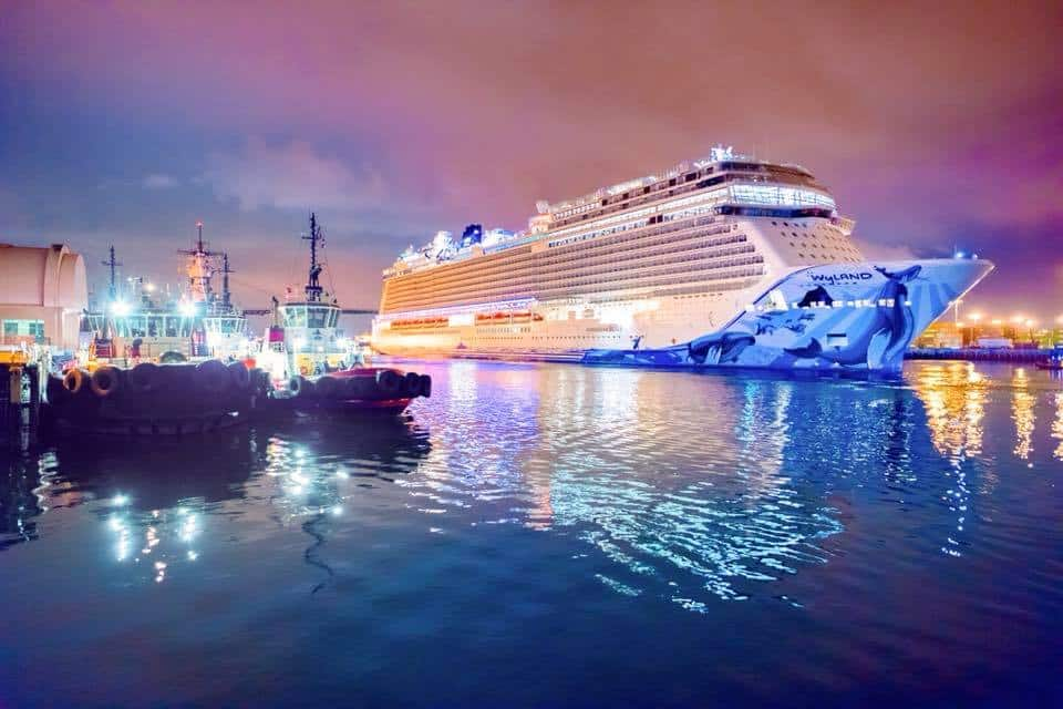 Norwegian Bliss Arrives in Los Angeles for Inaugural Tour