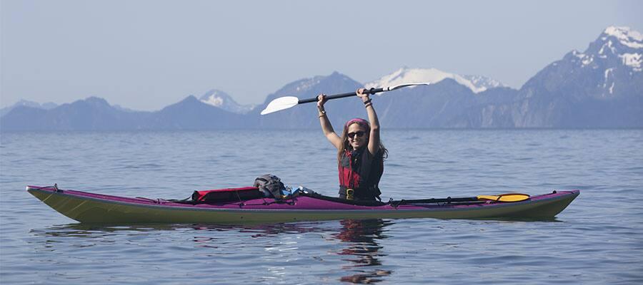 Kayak on your Alaska cruise
