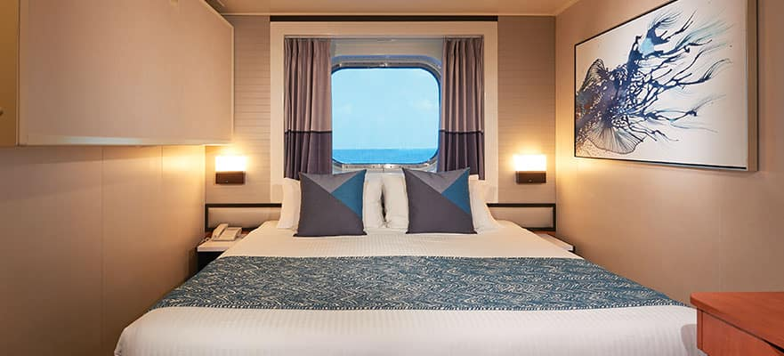 Mid-Ship Oceanview Picture Window