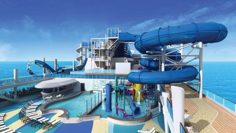 Bliss Pool Deck and Aqua Park