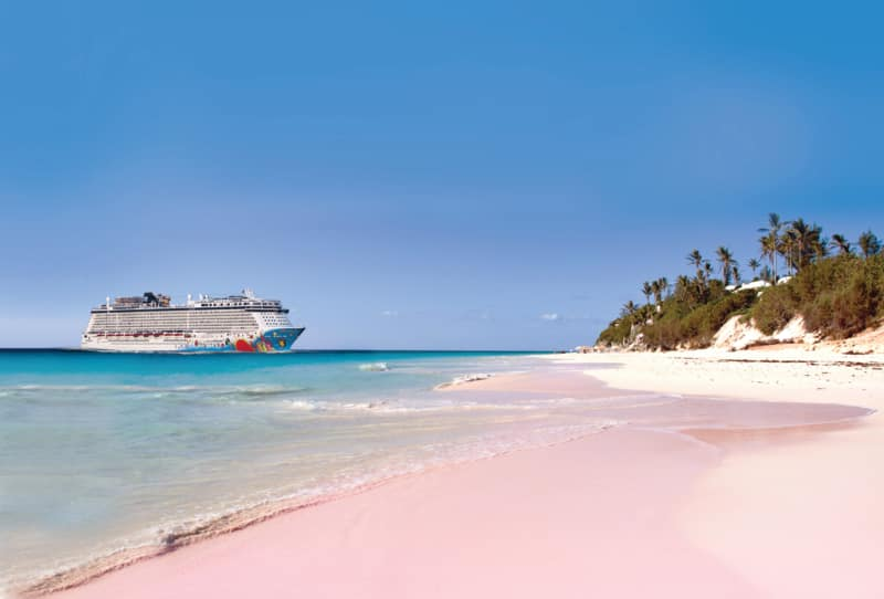 Norwegian Breakaway in Bermuda