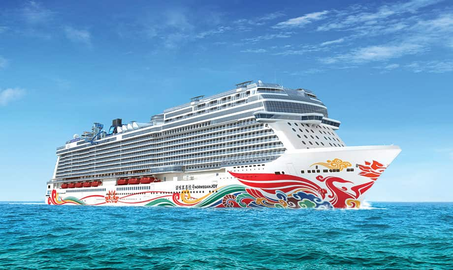 Norwegian Cruise Line's First-Ever Ship For China To Feature Custom