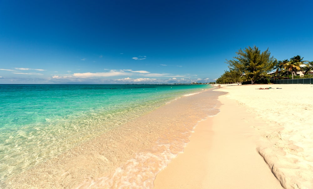 Seven Mile Beach in Grand Cayman